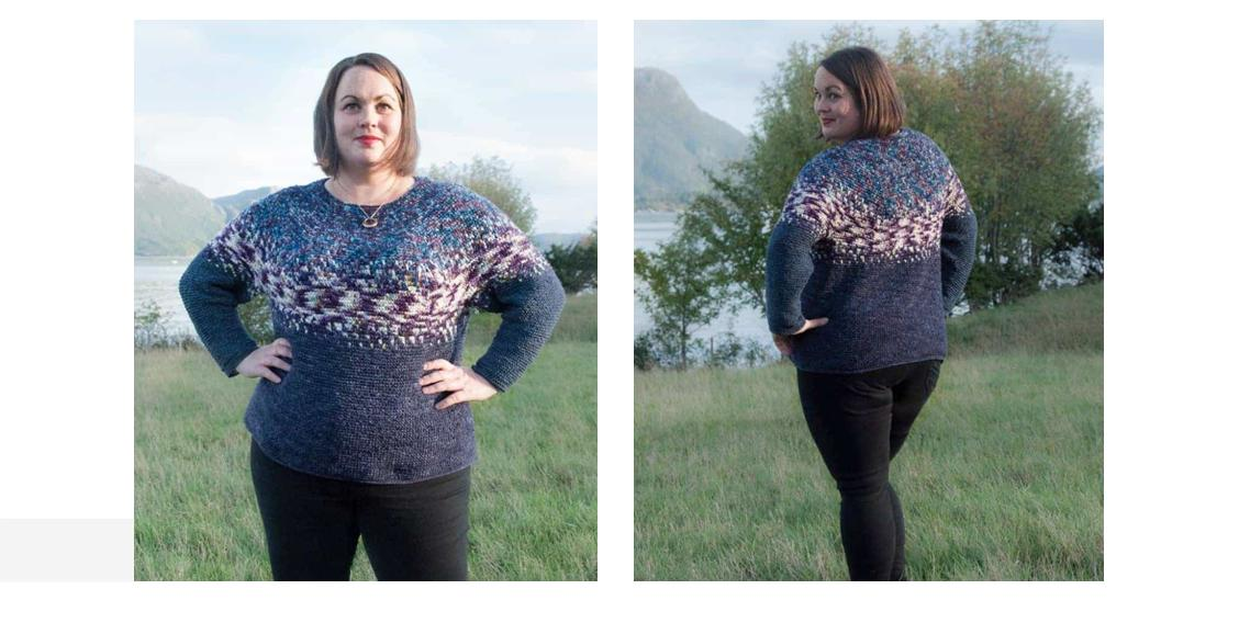 Gorgeous Gradvis Crochet Sweater | thecrochetspace.com
