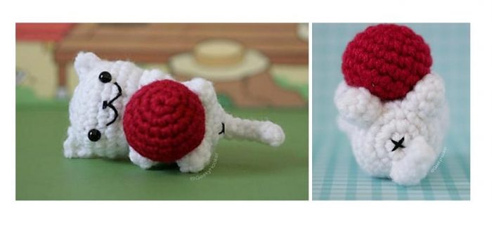 Playtime Crochet Kitty Cat | thecrochetspace.com