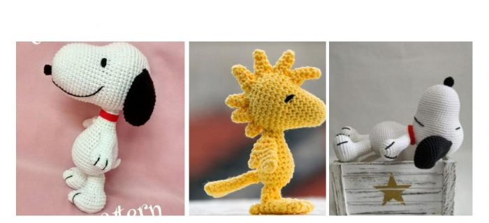 Crocheted Peanuts Characters Ride Again | thecrochetspace.com