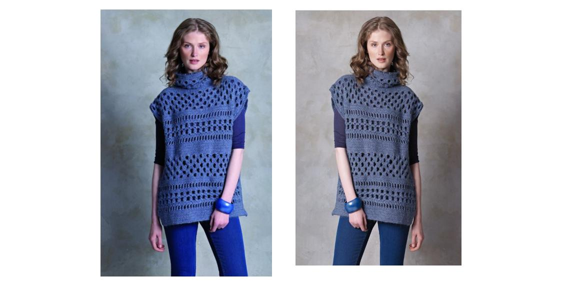 Crocheted Winter Mckenna Tunic | thecrochetspace.com