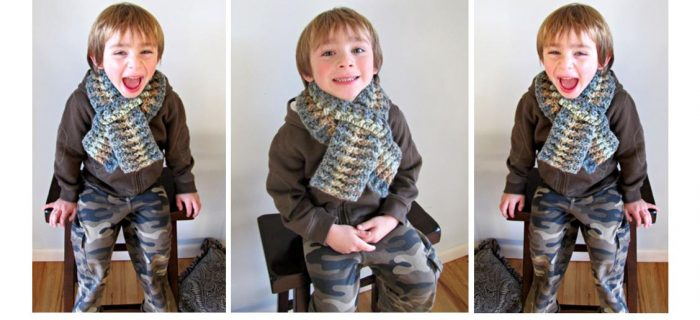 Children´s Scarf Crochet Pattern | thecrochetspace.com