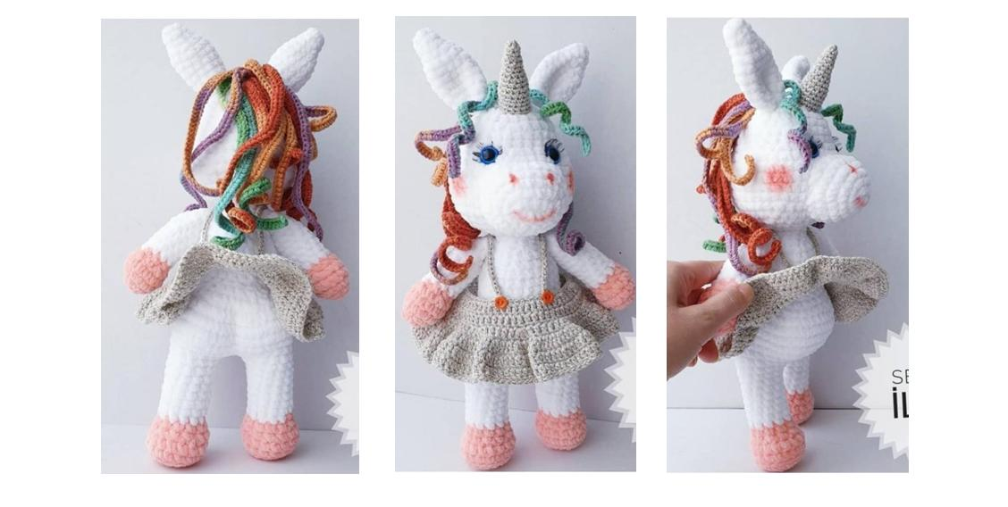 Free Unicorn Crochet Patterns - The Best Collection Ever ... | 568x1128
