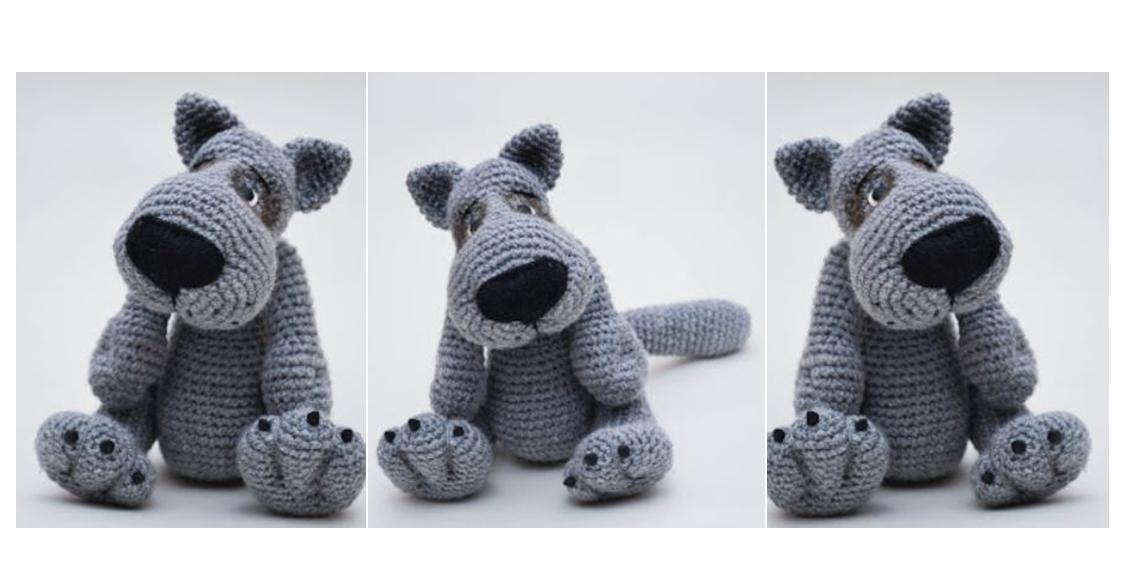 Amigurumi Cute Dog Free Pattern – Free Amigurumi Patterns in 2020 ... | 568x1128
