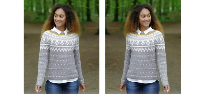 Winter Sunshine Crocheted Sweater | thecrochetspace.com