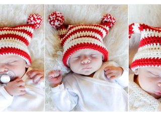 Tiny Gnome Crochet Hat | thecrochetspace.com