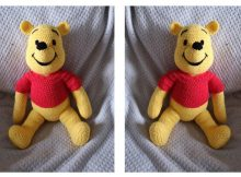 Crocheted Winnie-The-Pooh | thecrochetspace.com