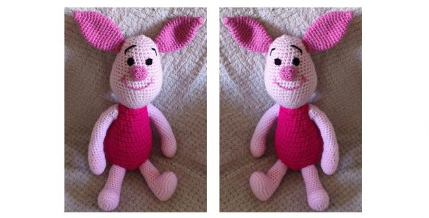 Pooh´s Crocheted Friend Piglet | thecrochetspace.com