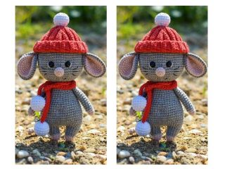 Charming Crochet Mighty Mouse | thecrochetspace.com