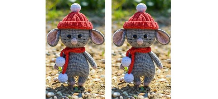 Charming Crochet Mighty Mouse   thecrochetspace.com