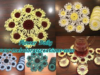 crochet doilies and coasters   the crochet space