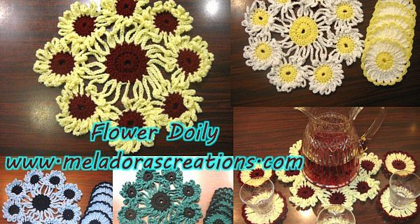 crochet doilies and coasters | the crochet space