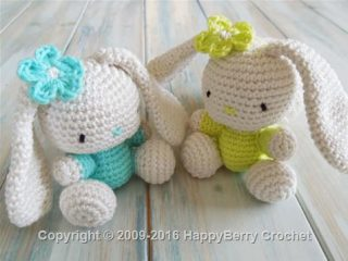 crochet amigurumi rabbits | the crochet space