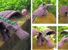 crochet dragon | the crochet space