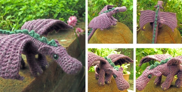 Crochet Dragon Free Crochet Pattern Video Tutorial