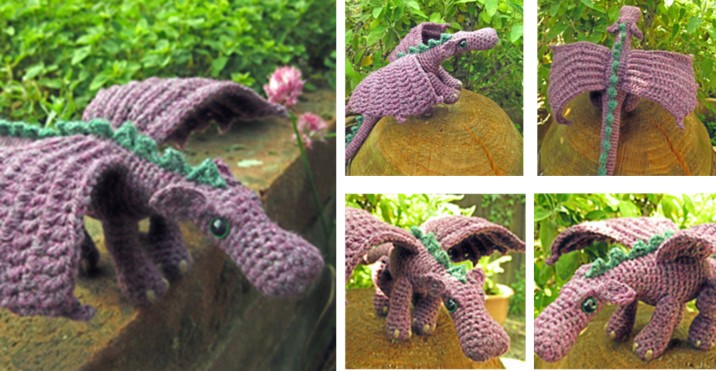 Crochet Dragon Free Crochet Pattern Video Tutorial The Crochet Space