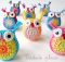 crochet owls | the crochet space