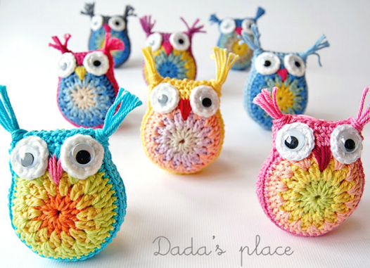 Free Crochet Pattern Small Owl : Crochet Owls [FREE Crochet Pattern + Photo Tutorial]