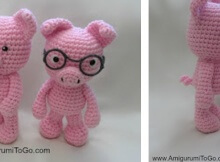 crocheted little piggies | the crochet space