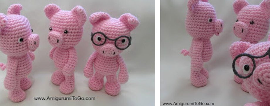 These Little Piggies Went To Market [FREE Pattern + Video Tutorial]