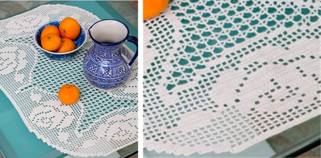 Crochet Rose And Lace Doily Free Patternvideo