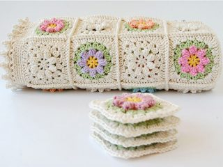 crochet primavera granny square | the crochet space