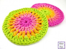 crochet cheerful trivets | the crochet space