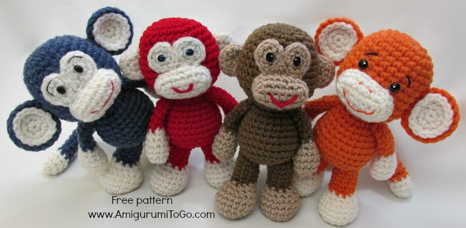 crochet amigurumi monkey | the crochet space