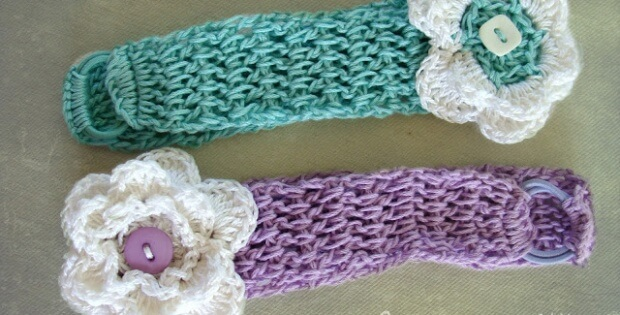 Crochet Baby Headbands [FREE Crochet Pattern]