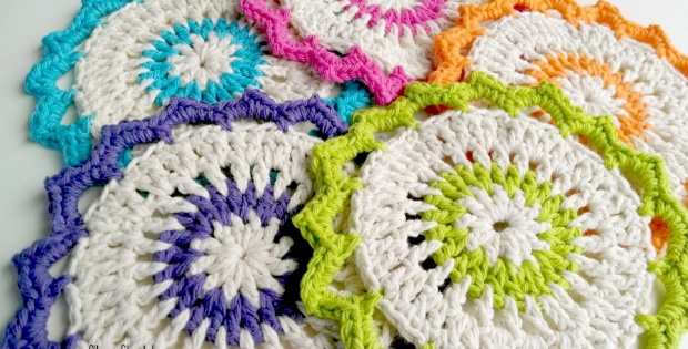 crochet lotus bloom dishcloths | the crochet space