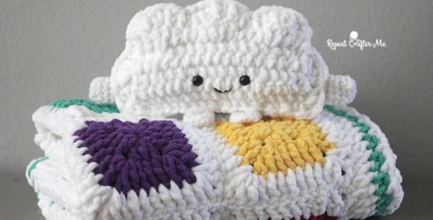 crochet bulky baby blanket | the crochet space