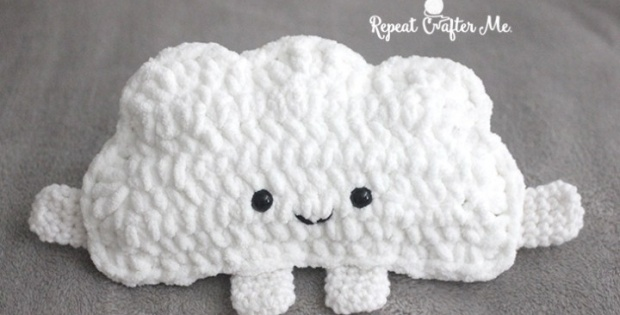 crochet cuddly cloud | the crochet space