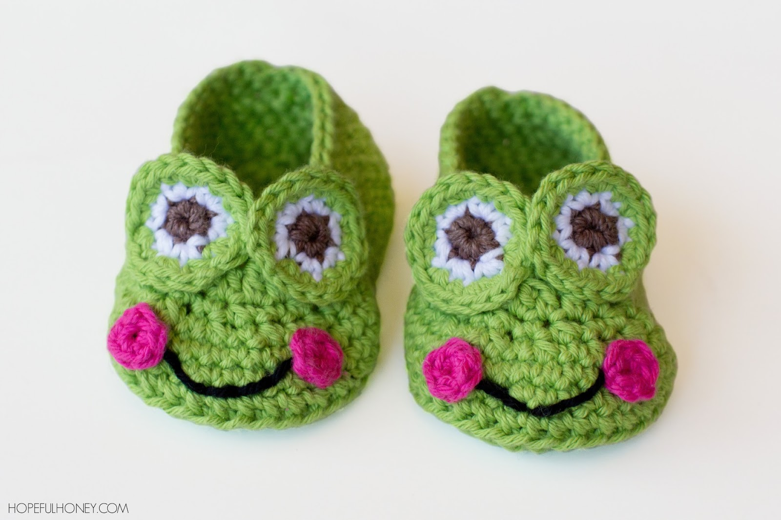 Crochet frog baby booties free crochet pattern bankloansurffo Image collections