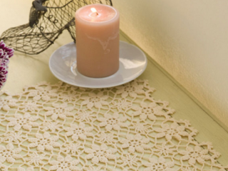 crochet apple blossom placemat | the crochet space