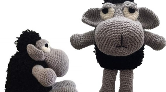 crochet ewe-gene black sheep | the crochet space