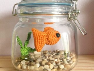 crochet goldfish | the crochet space