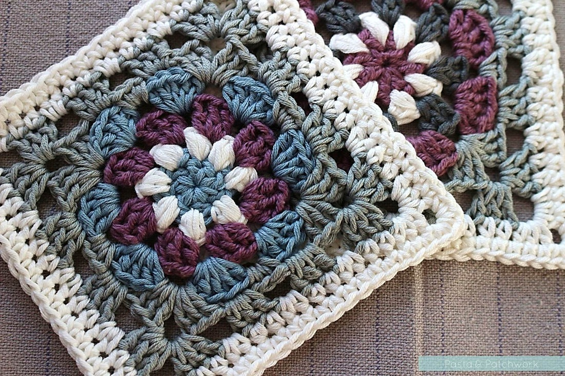 crochet lily pad granny square | the crochet space