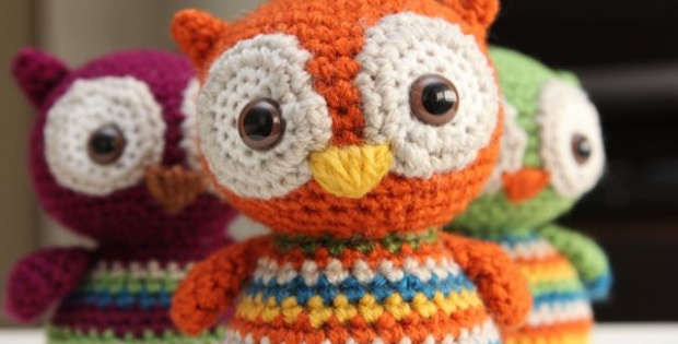 crochet baby owl | the crochet space