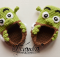 crochet shrek baby booties | the crochet space