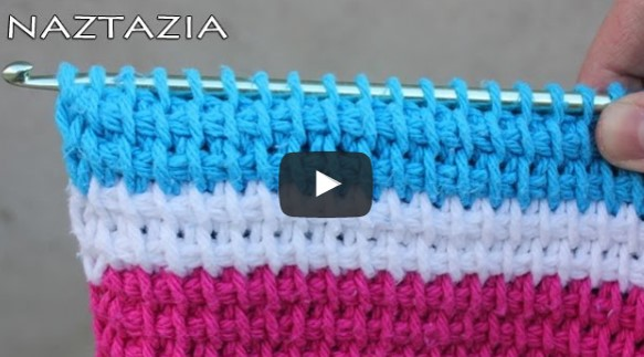 Tunisian crochet stitch | the crochet space