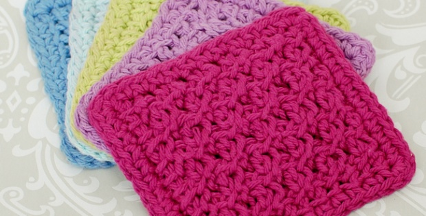 Tunisian Crochet Coaster Set Free Crochet Pattern