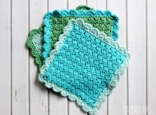 crochet primrose dishcloths | the crochet space