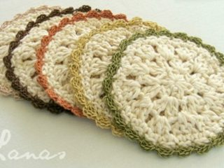 crochet bloom coasters | the crochet space