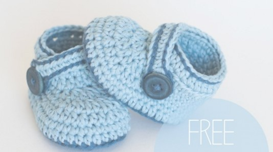 Crochet Blue Whale Baby Booties [FREE Pattern+Video]