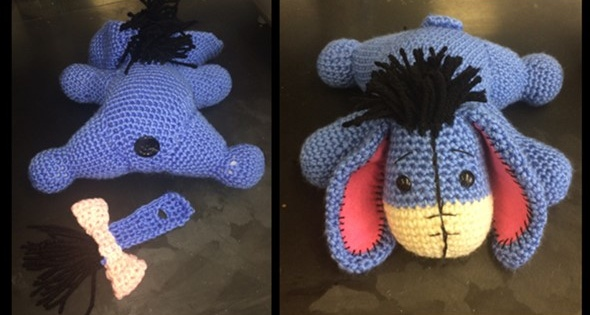 Crochet Eeyore [FREE Crochet Pattern] Cool Free Crochet Patterns