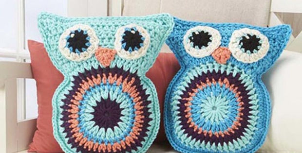 Crochet Owl Pillow Pals Free Crochet Pattern