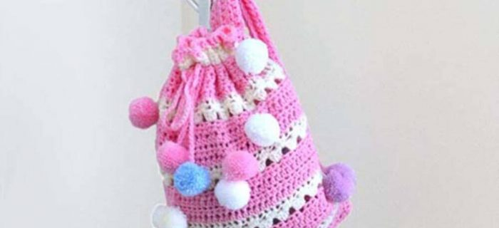 Easy crochet pixie bag | the crochet space