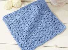 crochet Roanoke dishcloth | the crochet space