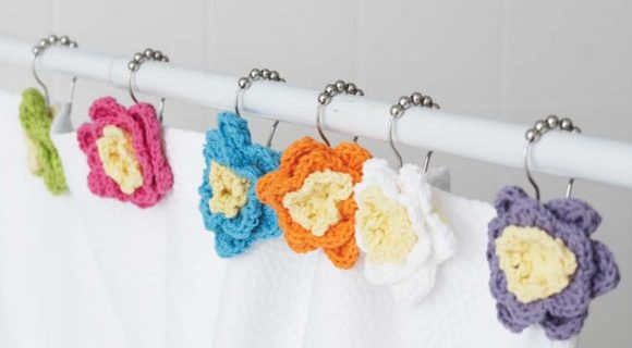 crochet shower flowers | the crochet space
