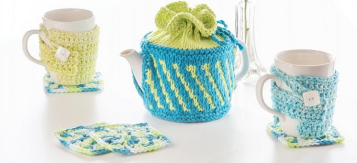 crochet quick square coasters | the crochet space