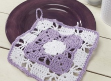 crochet snapdragon dishcloth | the crochet space